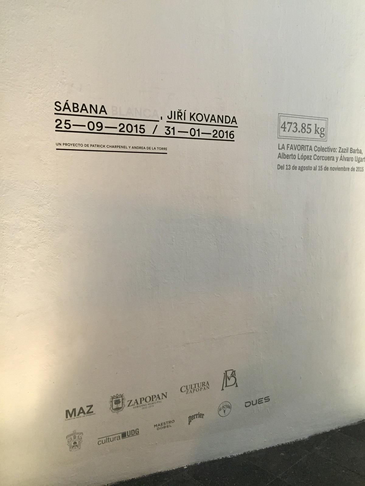 DUES patrocinador exposicion Sabana Blanca