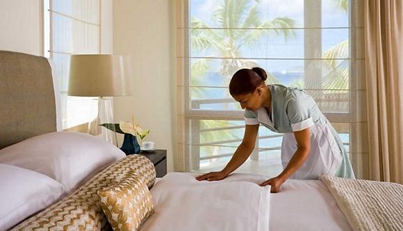 Limpieza en hoteles