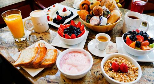 Como Es El Desayuno Americano Buffet